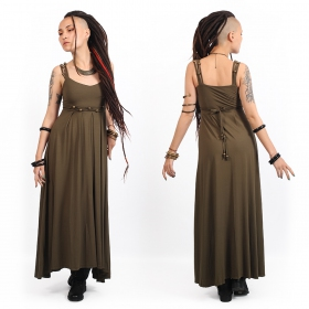 """Massaläa\"" long dress, Khaki"