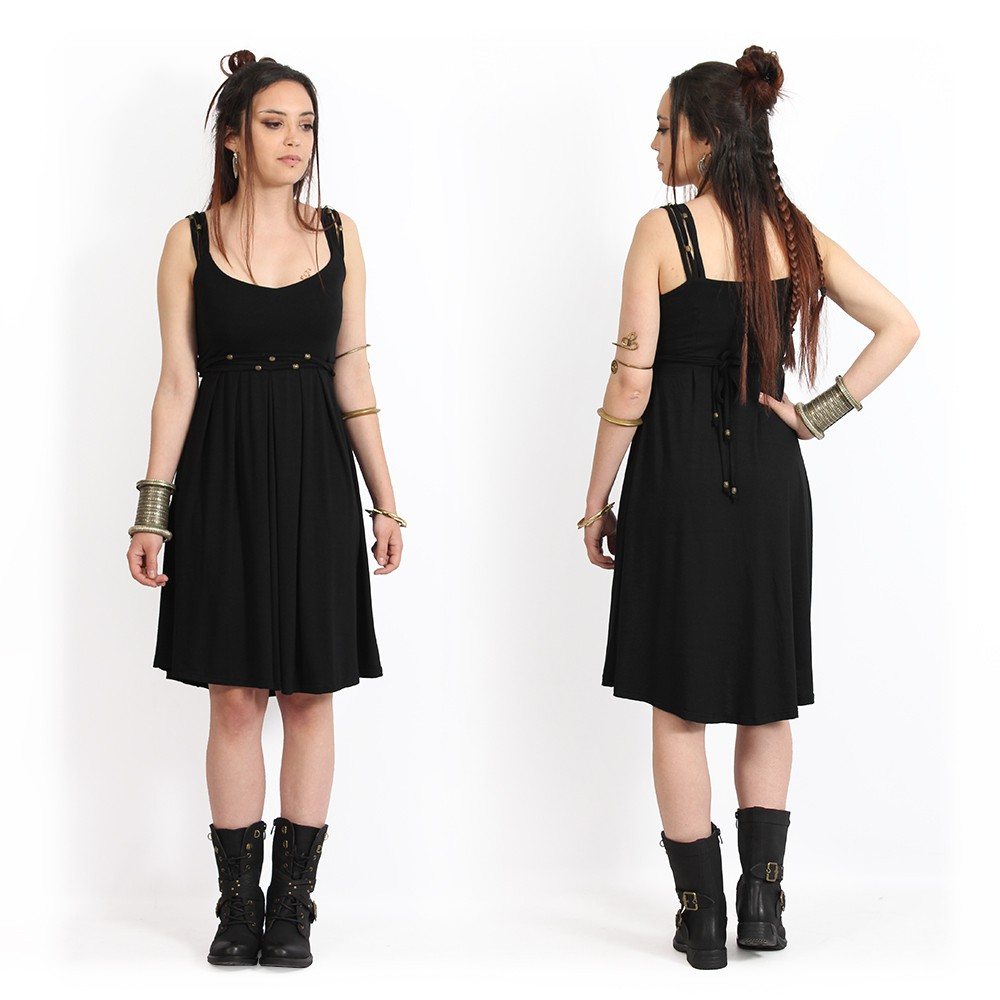 """Massaläa\"" short dress, Black"