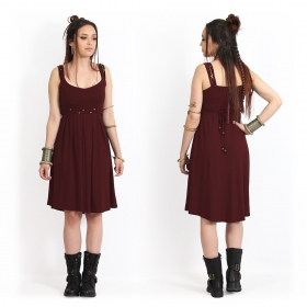 """Massaläa\"" short dress, Wine"