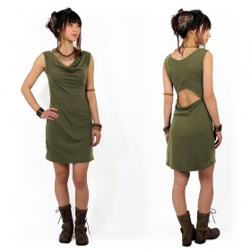 """May-Lï\"" dress, Olive"
