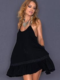 "\""Maya\"" dress, Black"