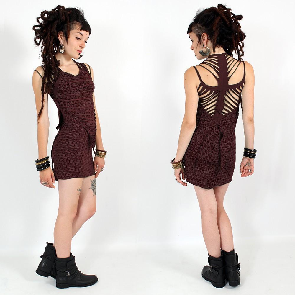 "\\\""Maya\\\"" dress, Wine"
