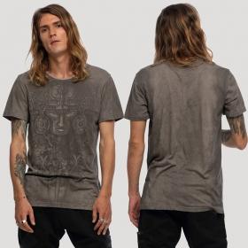 "\""Maya\"" t-shirt, Steel beige"