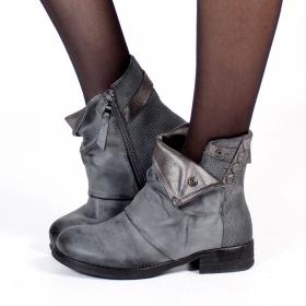 "\\\""Mayûri\\\"" boots, Grey"