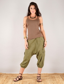 "\""Mei\"" harem pants, Army green"