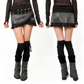 "\""Menaka\"" boots, Grey"