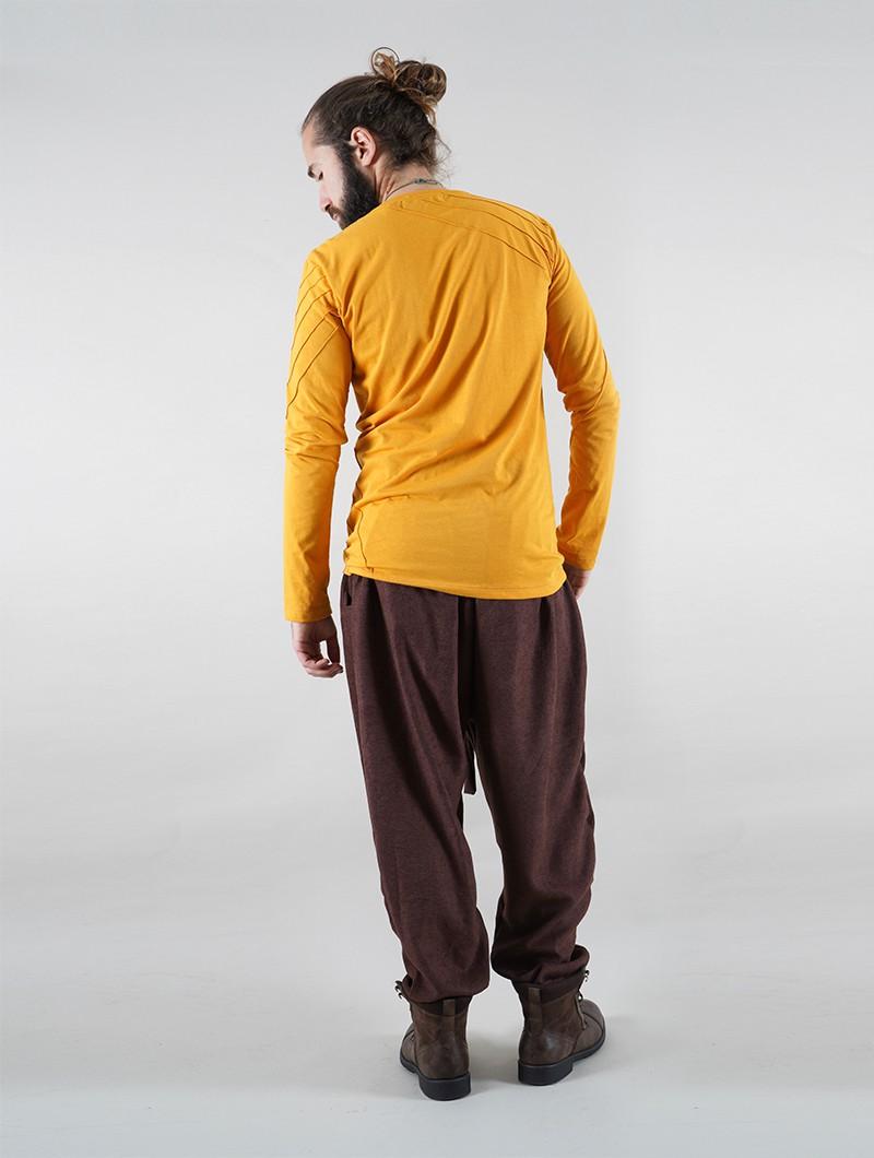 "\""Merwan\"" Harem joggers, Brown"
