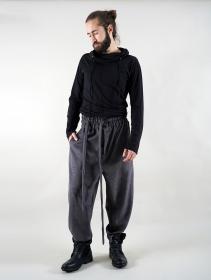 "\""Merwan\"" Harem joggers, Charcoal grey"