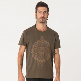 """Mexica\"" t-shirt, Olive"