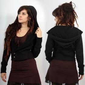 "Mini Jacket \""Glisha\"", Plain black"