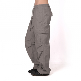 Molecule baggy pants for women, Grey