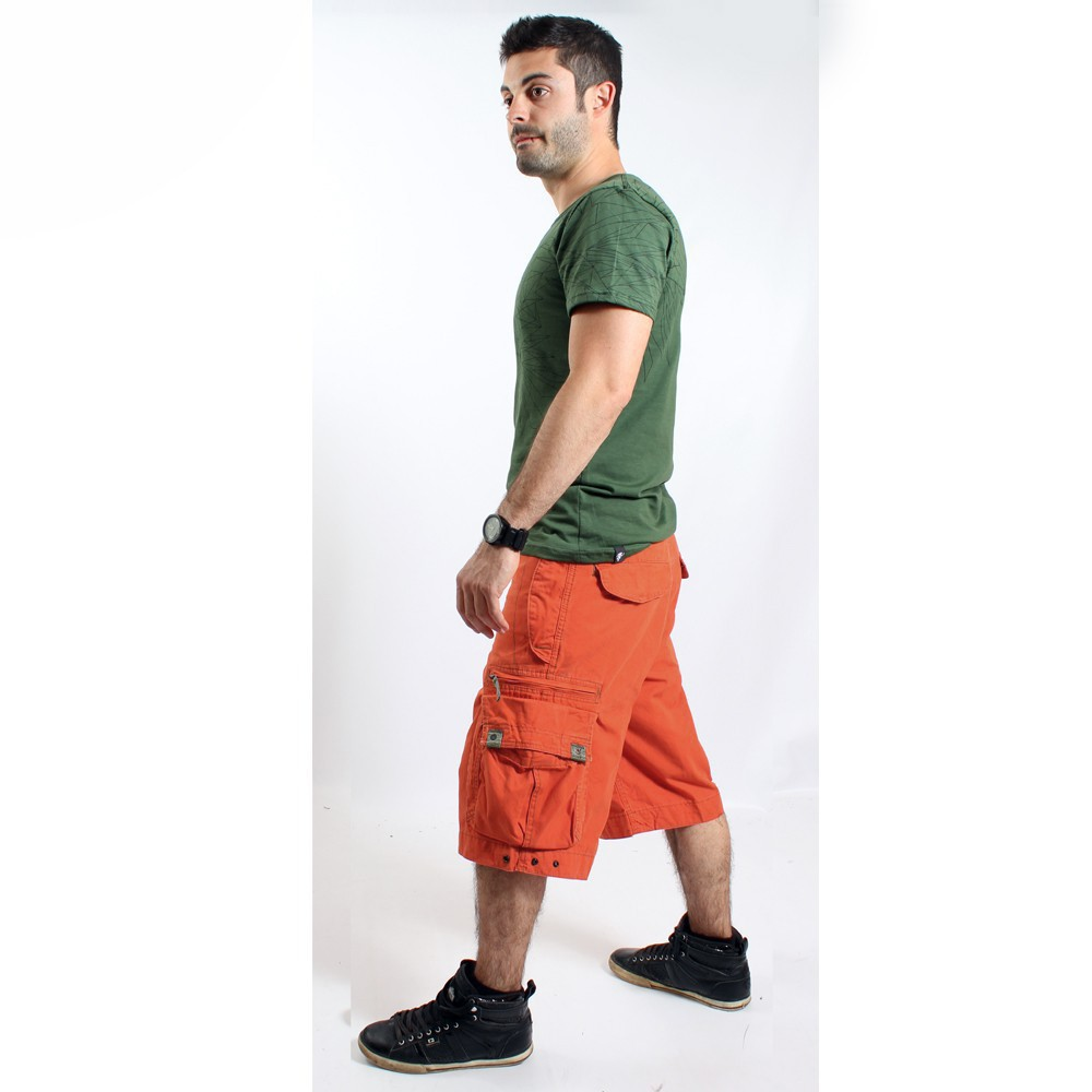 Molecule Short 45020, Orange