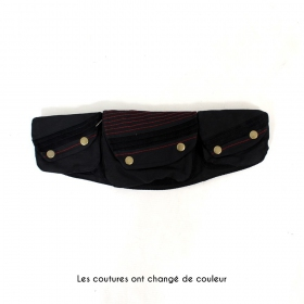 "Money Belt \""Lakhpa\"", Plain black"
