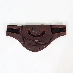 "Money Belt Exception \\\""Sanika\\\"", Brown black lace"