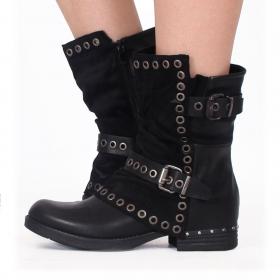 "\""Morwën\"" boots, Black"