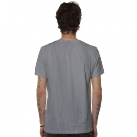 """Mr Airplain\"" t-shirt, Light grey wash"