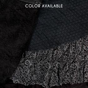 """""""Multi"""" skirt, Plain black"""