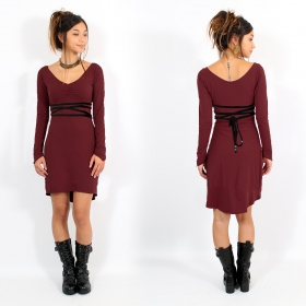 """Mystic\""dress, Wine and Black"