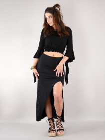"""Naïade\"" skirt, Black"