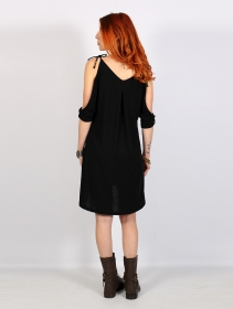 """Narasimhäa\"" bare shoulders dress, Black"