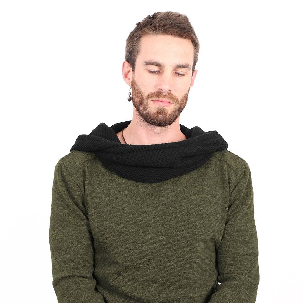 "\""Nemöo\"" sweater, Khaki green"