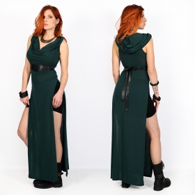 "\""Nephilim\"" dress, Dark teal"