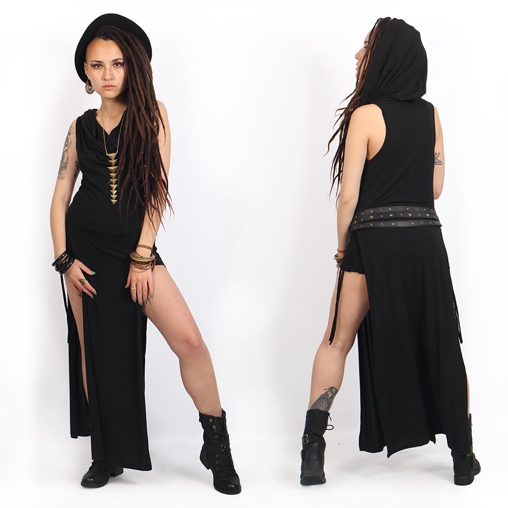 "\""Nephilim\"" dress, Plain black"