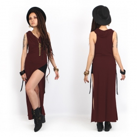 """Nephilim\"" dress, Plain wine"