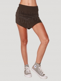 "\""Net Mini\"" skirt, Khaki"