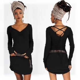 "\""Nikkäa\"" dress, Black"
