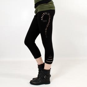 "\""Niram\"" 3/4 leggings, Black"