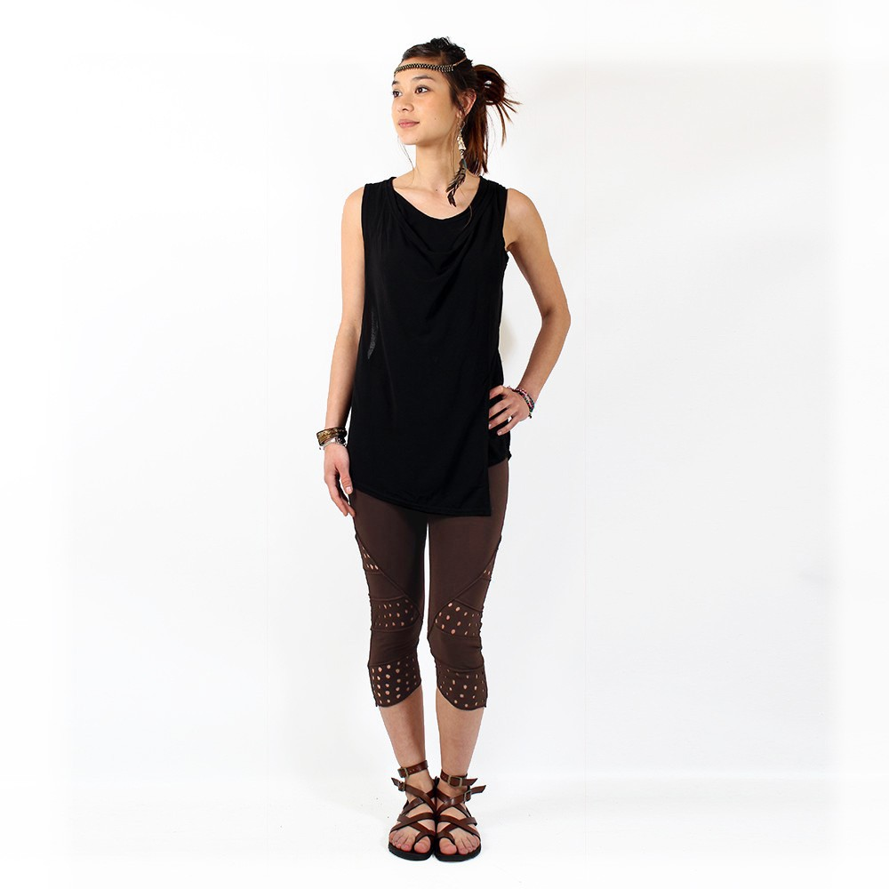 """Nirmala\"" leggings, Brown"