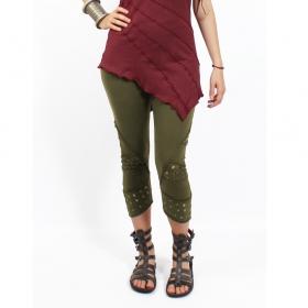 "\""Nirmala\"" leggings, Khaki"