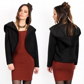 "\""Nourah\"" jacket, Black"