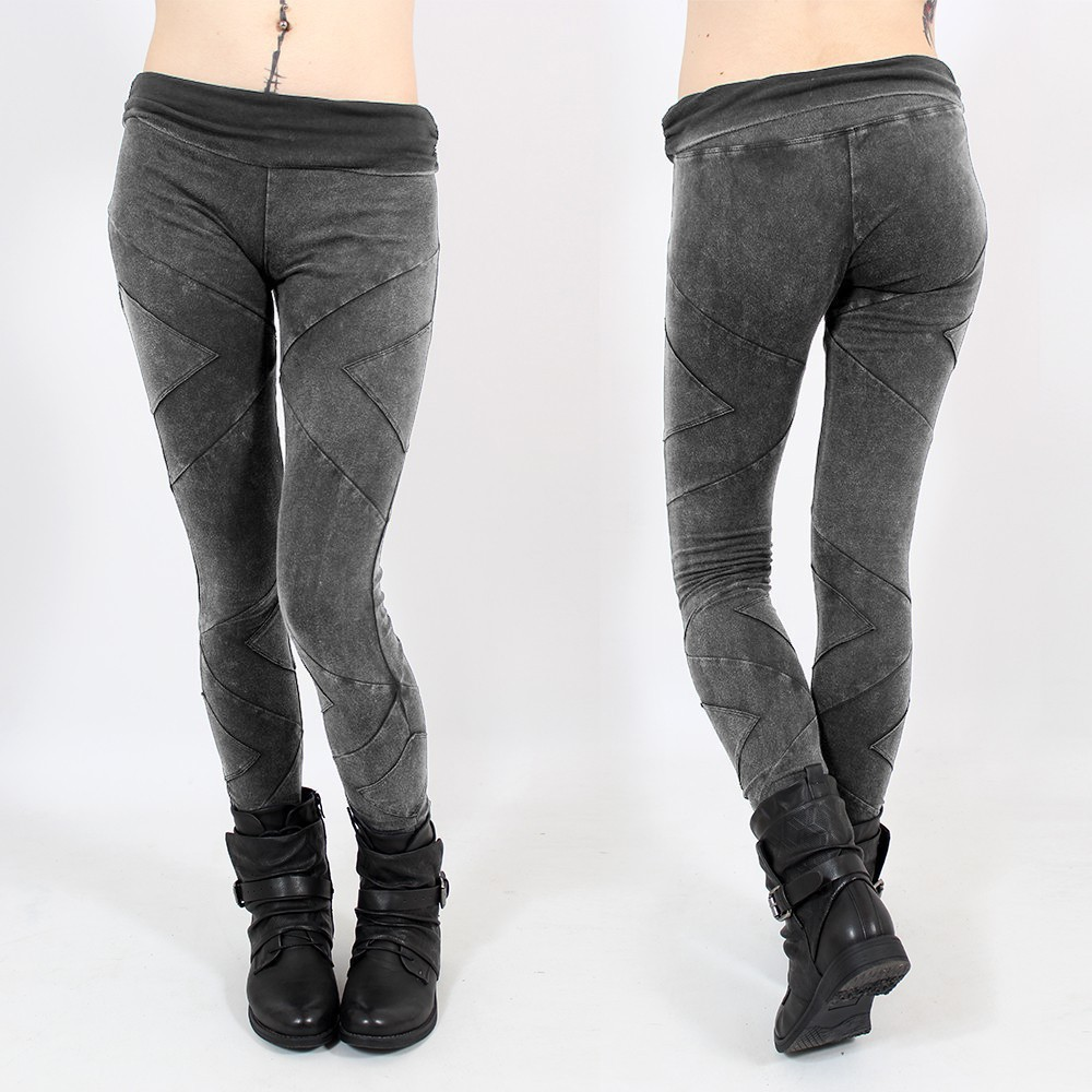 """Nyepi\"" long leggings, Stonewash"