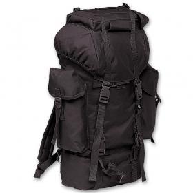 Nylon rucksack black