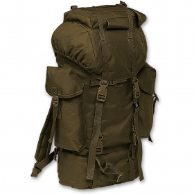 Nylon rucksack kaki