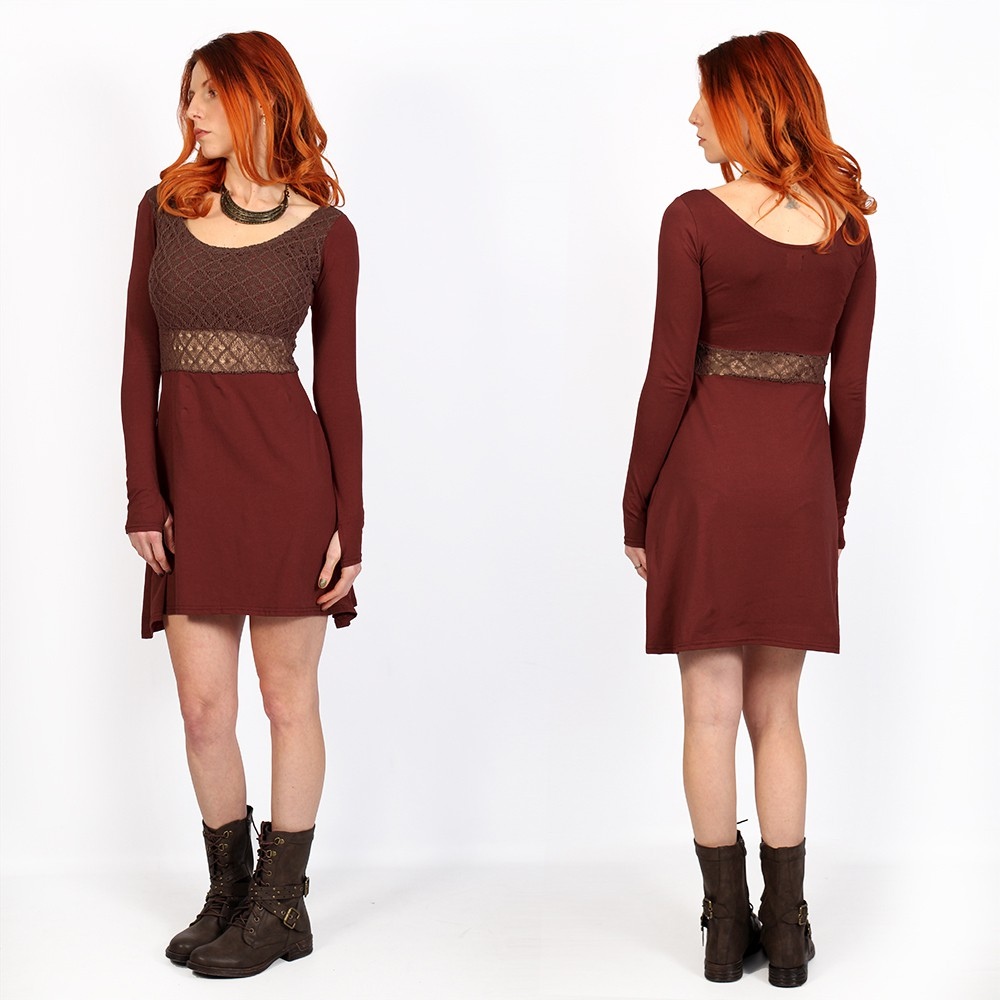 ""\""""Nymphea"""" skater dress with crochet, Sienna""1000|1000|?|en|2|8b76fc8b1fcb642dcf29e14022d59ceb|False|UNLIKELY|0.3218992352485657