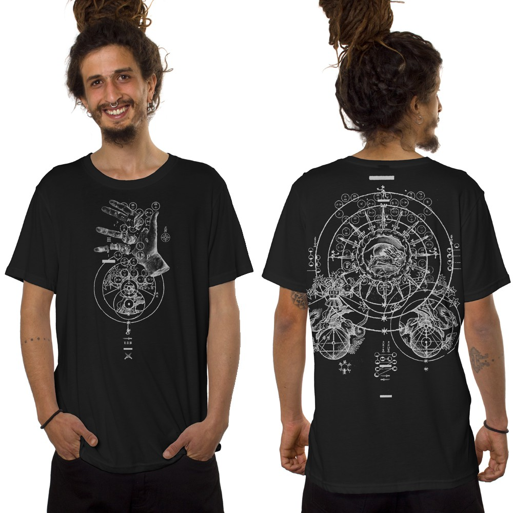 "\""Obscure\"" t-shirt, Black"