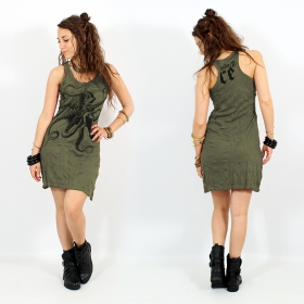 """Octopus\"" dress, Khaki"