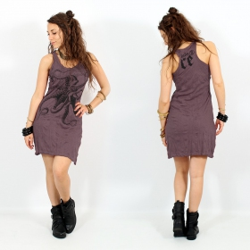 "\\\""Octopus\\\"" dress, Purple"