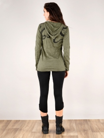""\""""Octopus"""" hooded top, Army green""211|280|?|en|2|2228557cafbf177d372079c527e483b0|False|UNLIKELY|0.3101382255554199