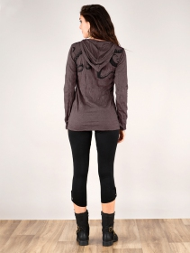 ""\""""Octopus"""" hooded top, Taupe""211|280|?|en|2|eabb90d2627d12b78f3bd748e8af5916|False|UNLIKELY|0.2840569317340851