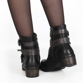 "\""Odekö\"" boots, Black"