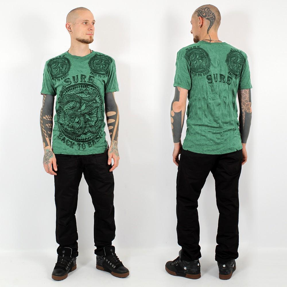"\""Ohm\"" t-shirt, Mint"