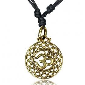 "\\\""Ohm Devak\\\"" necklace"