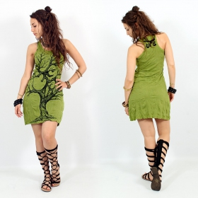 "\""Ohm tree\\\"" dress, Apple green"