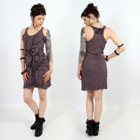 "\""Ohm tree\\\"" dress, Taupe"