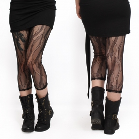 """Okïl\"" 3/4 leggings, Black"