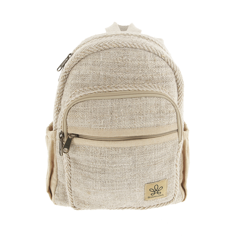 ""\""""Onaona"""" backpack, Beige jute canvas with colorful patterns""800|800|?|en|2|41f7e430985adb82afdfa87635e7108b|False|UNLIKELY|0.33715176582336426